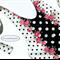 Halter romper, pink roses, black polka dots, backless flared pant, Boho retro